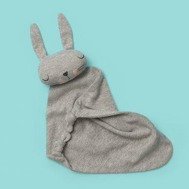 Mister Fly Grey Bunny Comforter