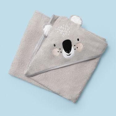Mister Fly Koala Bear Hooded Towel