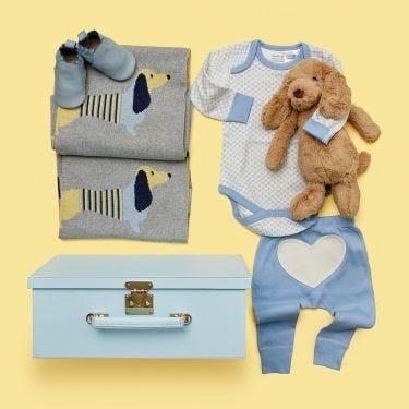 Mr Von Krum Baby Boy Gift Hamper