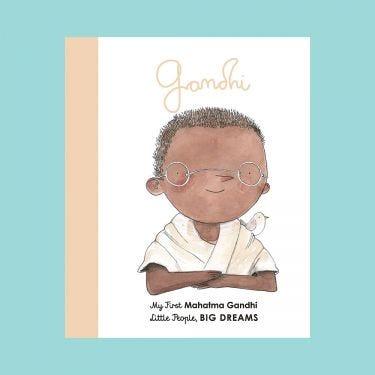 Little People Big Dreams Gandhi Board Book