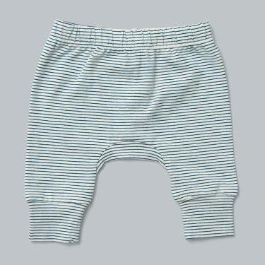 Pappe Joy Organic Corsair Stripe Baby Stretchy Legging 0-3m