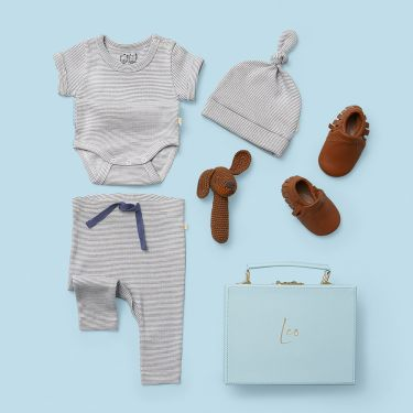 Perfect Newborn Baby Boy Gift with Moccasins
