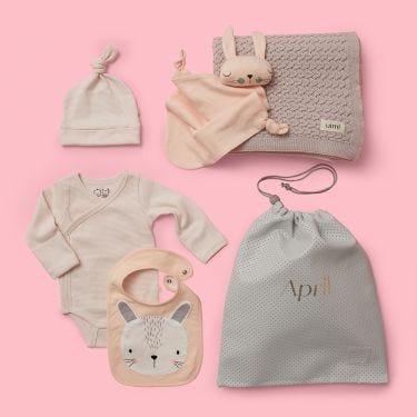 Pink Tones Baby Gift Hamper