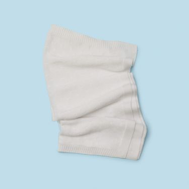 Purebaby Organic Cotton Blanket White