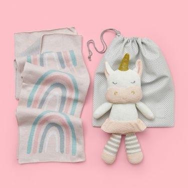 Rainbows and Unicorns Unique Baby Girl Gift