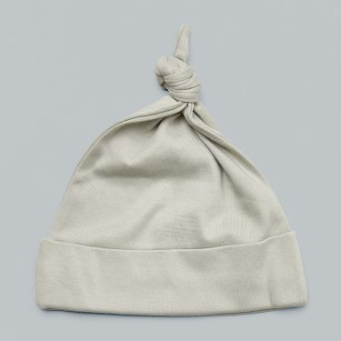 Sapling Child AU Dove Grey Knotted Hat Medium