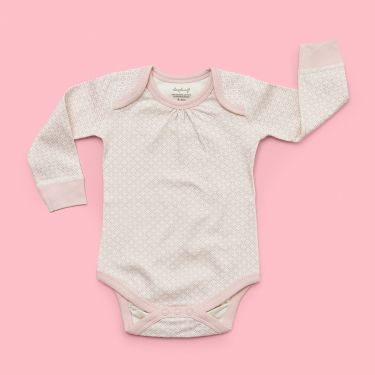 Sapling Child AU Dusty Pink Bodysuit sized 3 - 6 months