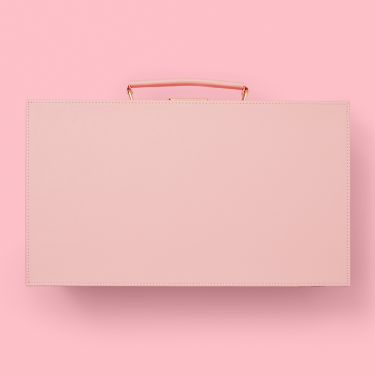 Soul Baby Gifts Pink Suitcase for Sleepovers
