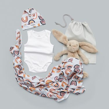 Snuggle Hunny Rainbow Baby Gift Hamper