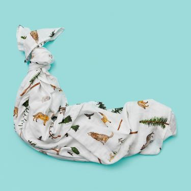 Snuggle Hunny Alpha Organic Cotton Muslin Wrap