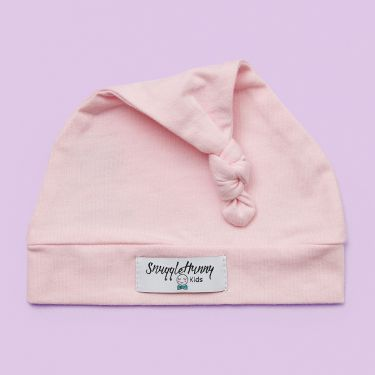 Snuggle Hunny Kids Pink Beanie 0-6 months