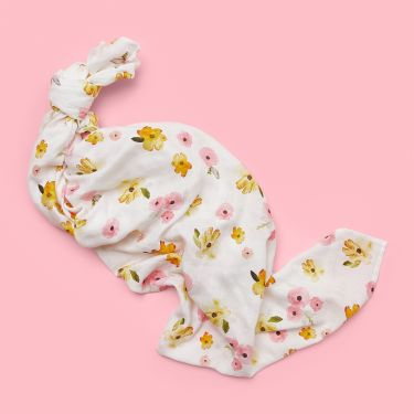 Snuggle Hunny Poppy Organic Muslin Wrap Baby Swaddle
