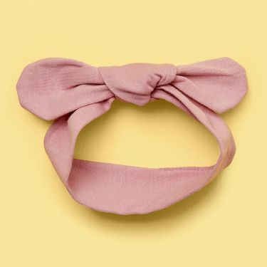 Snuggle Hunny Pink Fantasy Top Knot headband