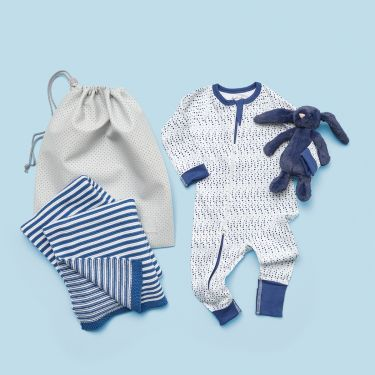 Spots and Stripes Baby Boy Gift Hamper