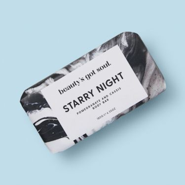 Starry Night Pomegranate and Cassis Body Bar 180g