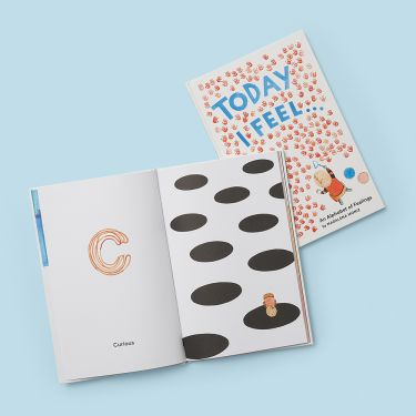 Today I Feel An Alphabet of Feelings Book by Madalena Moniz