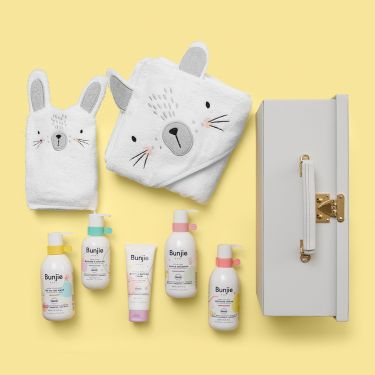 Ultimate Bunny Bath Time Baby Gift | Soul Baby Gifts