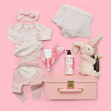 Unique and Cute Baby Girl Luxury Hamper