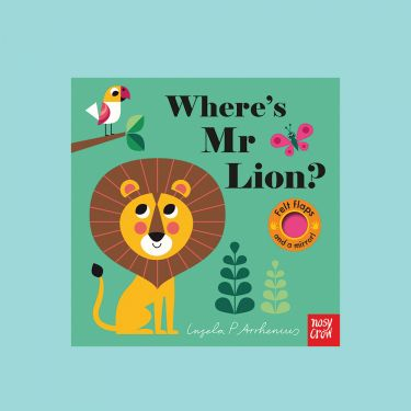 Wheres Mr Lion Board Book