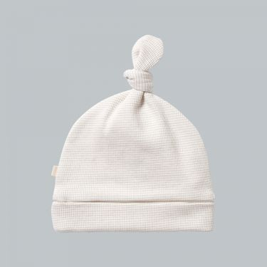 Wilson and Frenchy Organic Stripe Rib Knot Hat Clay 000