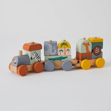 Zookabee African Animal Train Set