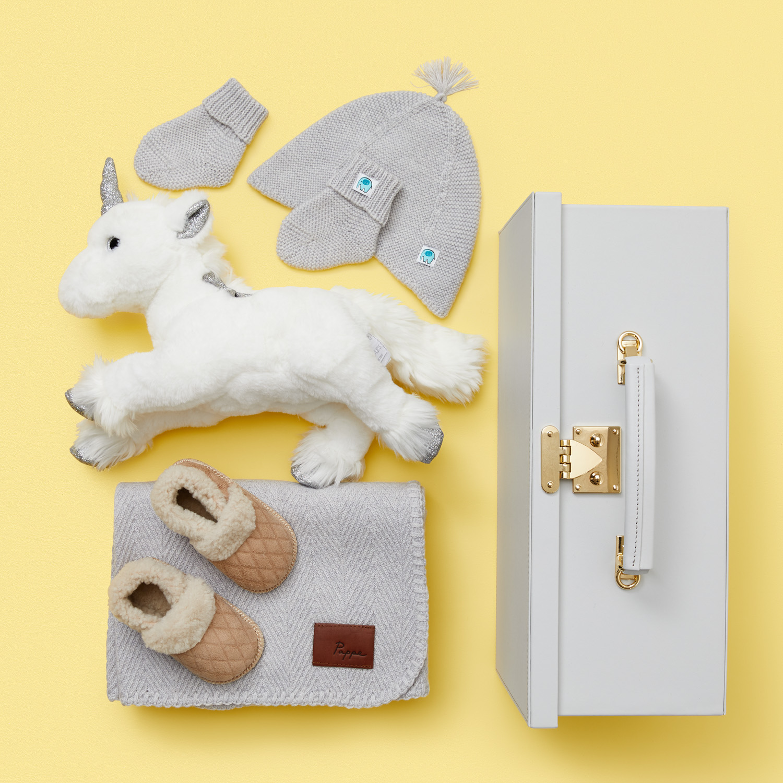 Fancy Unicorn New Baby Gift Set