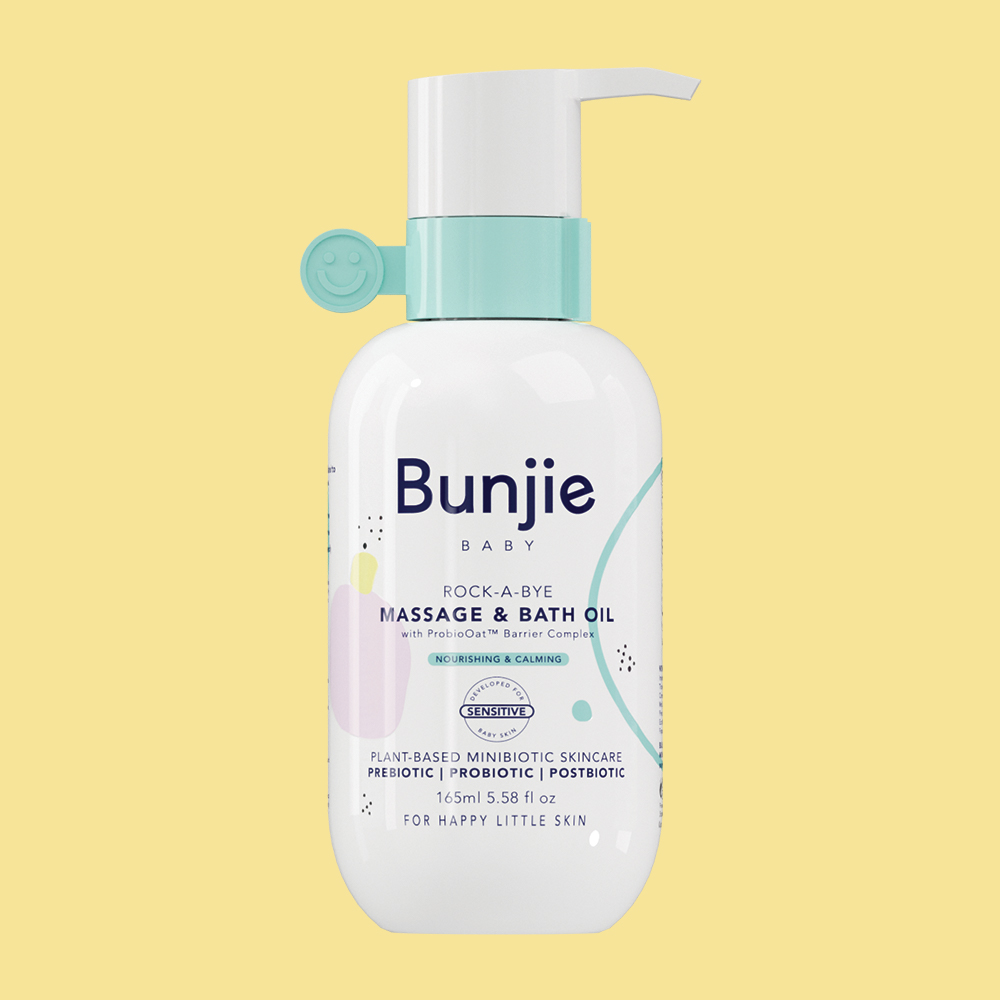 Bunjie Baby Skincare Baby Massage and Bath Oil