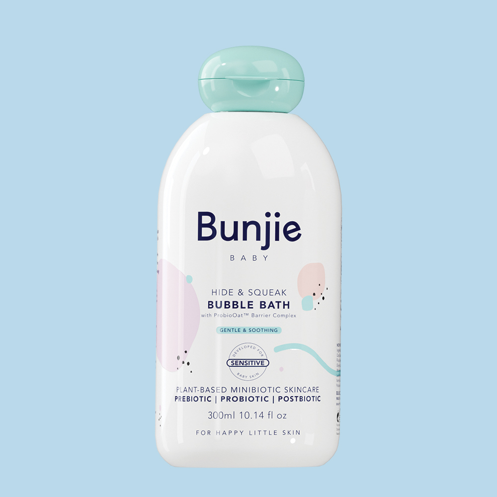 Bunjie Baby Skincare Bubble Bath