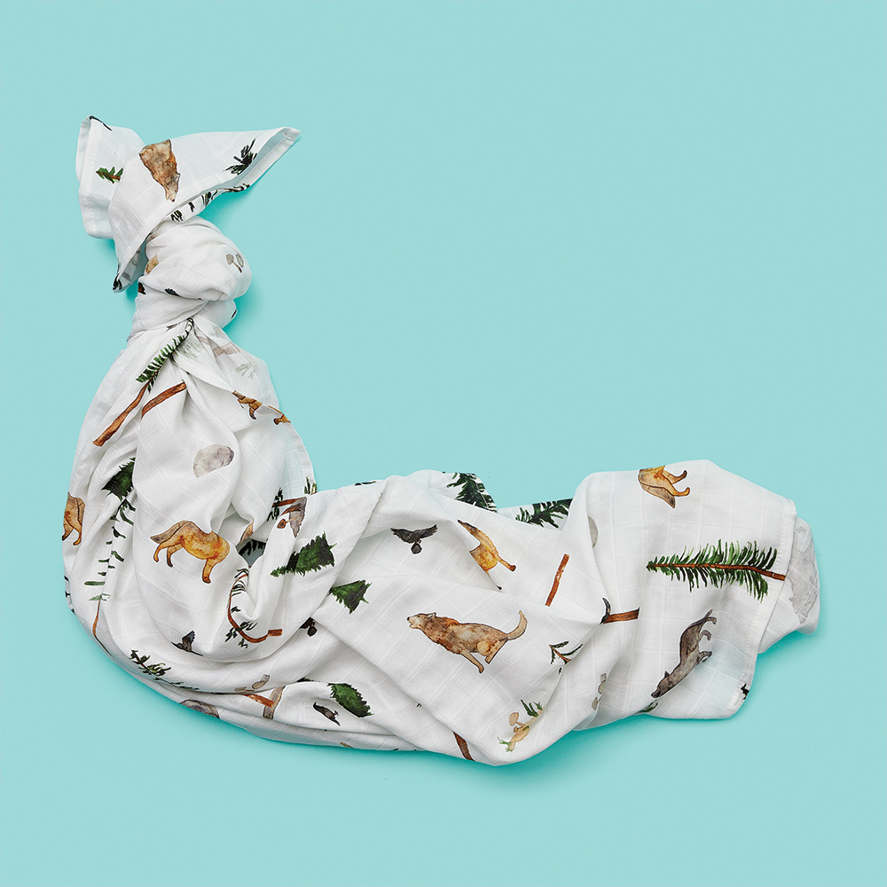 organic swaddles and baby wraps
